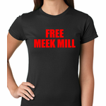 Free Meek Mill Hip Hop Women's T-shirt
