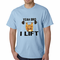 Yeah Bro I Lift Kitten Barbell Men's T-Shirt
