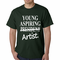 Young Aspiring Artist President Crossed Out T-shirt