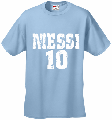 2014 World Cup Argentina Messi T-Shirt