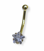 Gold Star Navel Jewelry