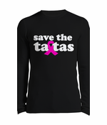Save The Ta Tas Breast Cancer Thermal Shirt
