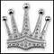 The Kings Crown Belt Buckle with Belt