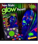 Super Bright Glowing Paint Makeup