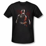 The Dark Knight Rises Batman Battleground Men's T-Shirt