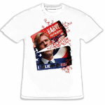 The Dark Knight Harvey Dent Defiled Campaign Poster T-Shirt