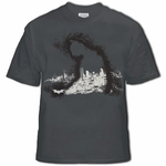 Dark Knight Cloak Of Protection Men's T-Shirt (Charcoal)