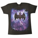 Cosmic Batman Logo Men's T-Shirt