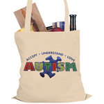 Autism Accept, Understand, Love Tote Bag