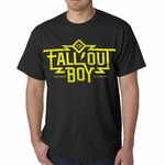 Official Fall Out Boy Machine Mens T-Shirt (Black)