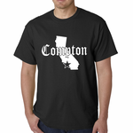Star City Of Compton, California Men's T-shirt