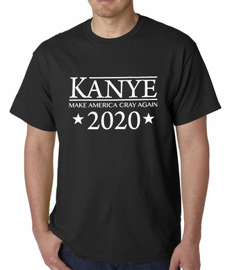 Kanye - Make America Cray Again Men's T-shirt