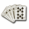Playing Cards Lapel Pin