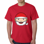 Santa Emoji Men's T-shirt