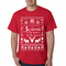 Ugly Sweater Jesus is the Reason Men's T-Shirt