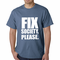 Fix Society. Please. Transgender Equality Men's T-shirt