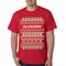 Ugly Christmas Sweater - Merry F*cking Christmas Men's T-Shirt