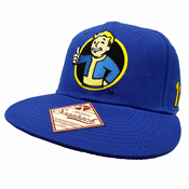 Limited Edition Official Fallout 4 Vault Boy Snapback Hat (Royal Blue)