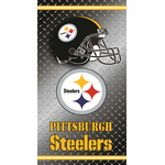 Pittsburgh Steelers Diamond Plate Towel (30 x 60)