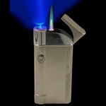 Super Slim BLUE LED Torch Lighter