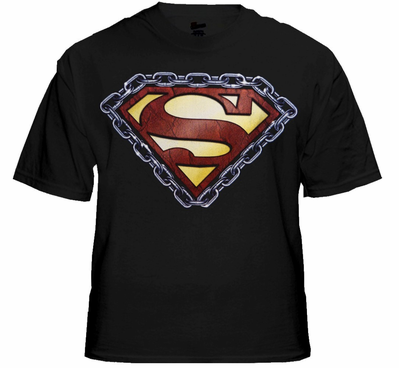 Superman Chained Shield T-Shirt