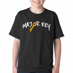 Major Key To Success Emoji Key Kids T-shirt
