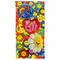 Peace, Love and Flower Power Beach Towel
