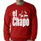 The God Father Inspired El Chapo Adult Crewneck