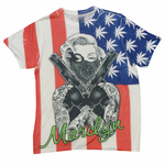 All Over Printed Marilyn USA Gangster Men's T-Shirt