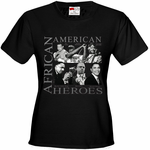 African American Hero Icons Women's T-Shirt