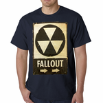Official Fallout Nuclear Sign Men's T-shirt