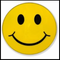 Smiley Face Belt Buckle With FREE Leather Belt