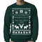 Ugly Sweater Snows Out Hos Out Crewneck