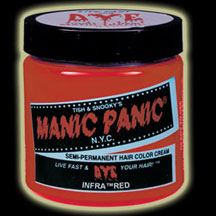 Manic Panic Infra Red Hair Color