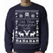 Ugly Sweater On The Naughty List Crewneck