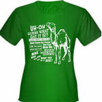 Camel Hump Day Guess What Day It Is Girl's T-Shirt