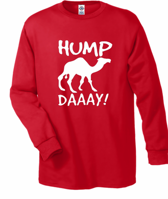 Hump Day Camel Long Sleeve Men's T-Shirt