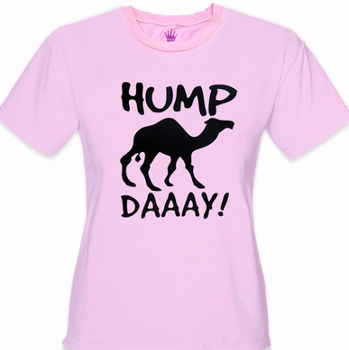 Hump Day Camel Girl's T-Shirt