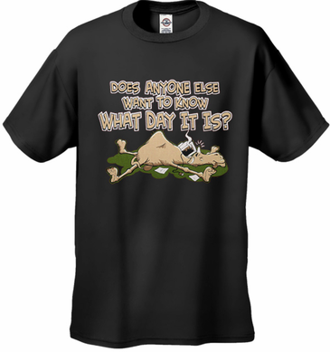 Does Anyone Else Want To Know What Day It Is? Hump Day Kid's T-Shirt