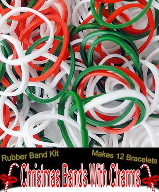 Limited Edition Christmas Bands With Charms
