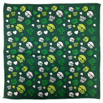 Bandanna - 22x22 Inch Kiss Me I'm Irish Bandanna (Kelly Green)