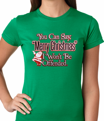 You Can Say Merry Christmas Women's T-shirt
