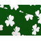 All Over Shamrocks Leg Warmers (Green with White Shamrocks)