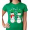 Ugly Christmas Sweater Perverted Snowman Women's T-Shirt