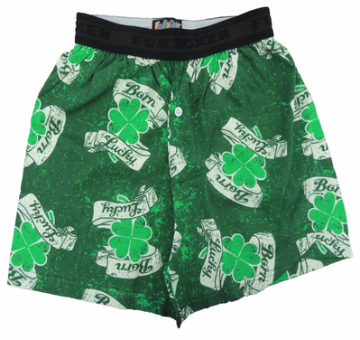 Born Lucky Irish Shamrock Boxers