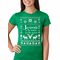Ugly Sweater Jesus is the Reason Women's T-Shirt