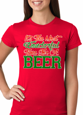 It's The Most Wonderful Time For A Beer Women's T-Shirt