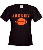 2014 Football Draft In Cleveland Browns Colors Women's T-Shirt