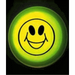 3'' Smiley Face Glow Badge