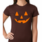 Orange Jack O' Lantern Women's T-shirt